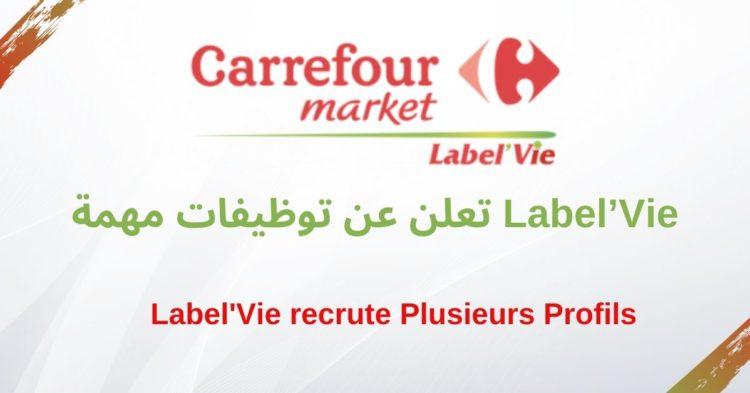 Label'Vie recrutement emploi - Ennajah.ma