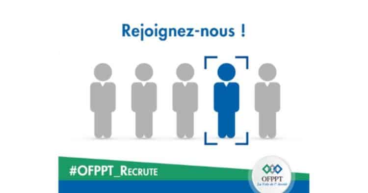Ofppt recrutement emploi - Ennajah.ma )