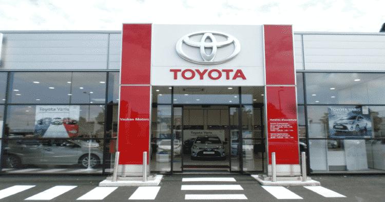 Toyota recrutement emploi